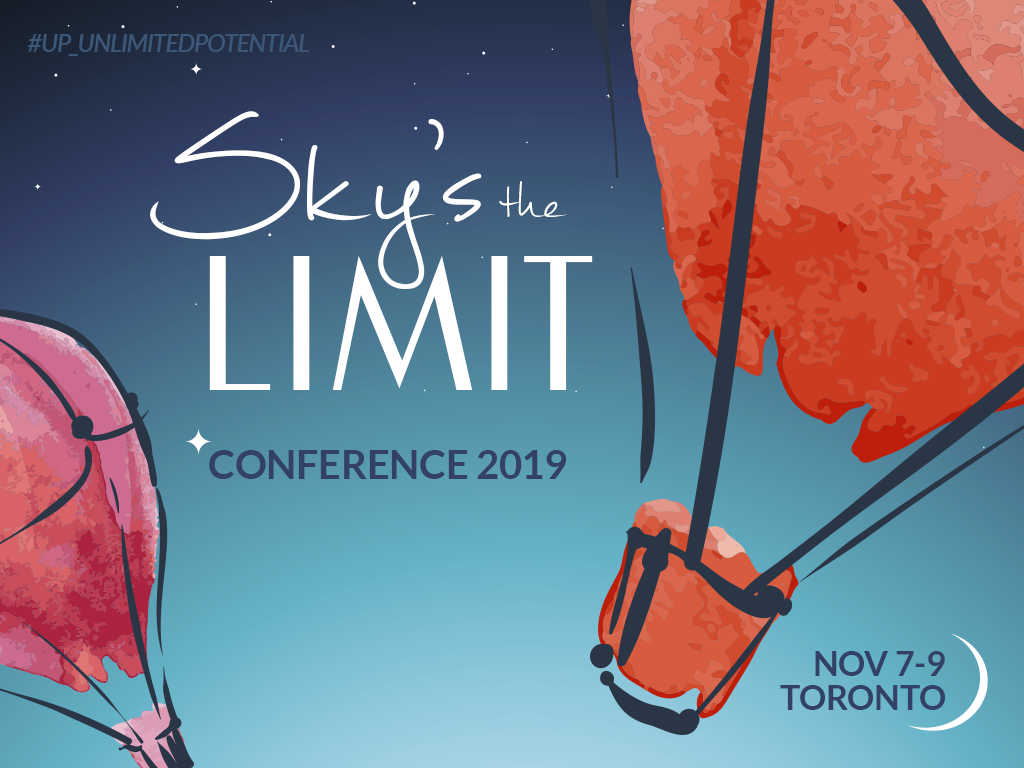 Organizers' Conference logo for November 2019 in Toronto